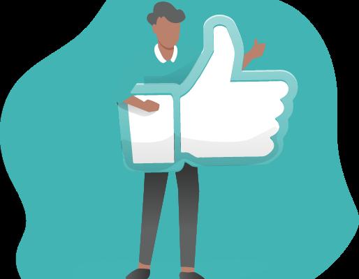 illustration article: 4 conseils pour mettre en valeur vos avis clients sur les réseaux sociaux