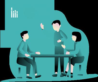 illustration article : Assurance, vers une économie collaborative