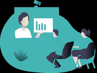 illustration article: Comment évaluer la santé d'une entreprise