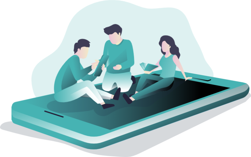 illustration article : L'importance de l'e-reputation sur les plateformes collaboratives