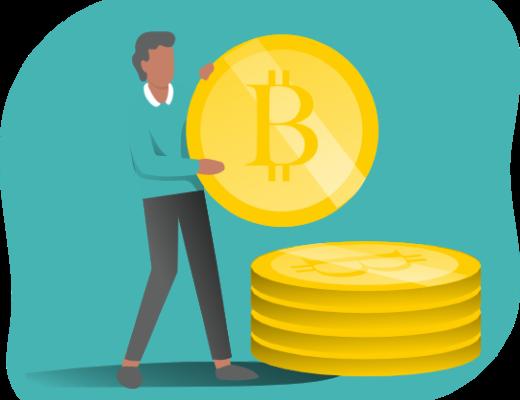illustration article : Le Bitcoin véritable révolution monétaire ou simple bulle spéculative