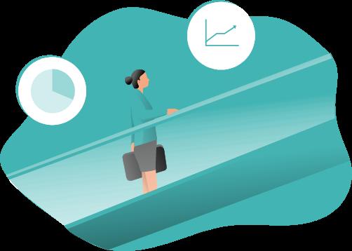 illustration article: Les Echos Solutions choisissent B-Reputation pour évaluer la qualité des solutions