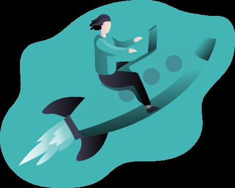 illustration article : Les clés d'une transformation digitale réussie