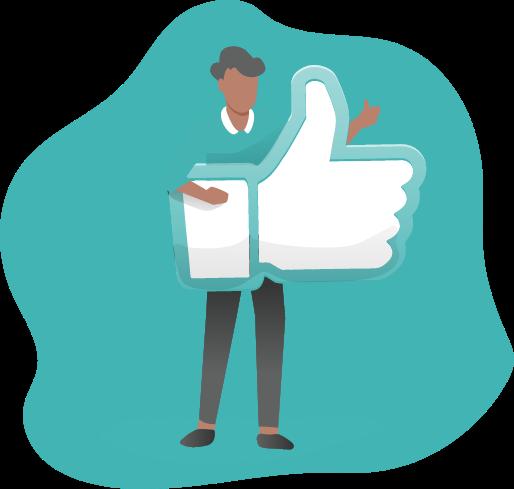 illustration article: Les entreprises qui utilisent Facebook