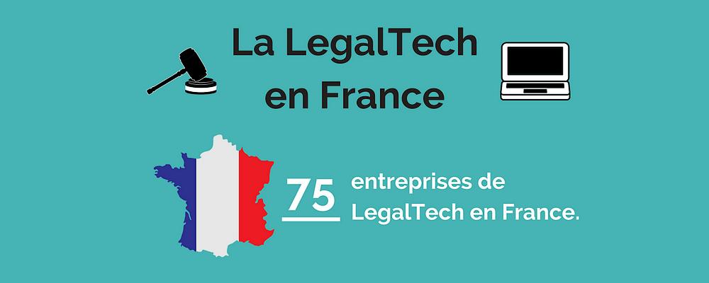 [Infographie] La LegalTech en France